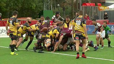 Liga División de Honor Masculina. 12ª jornada: Alcobendas Rugby - Aparejadores Burgos