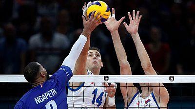 Campeonato de Europa Masculino. 2ª semifinal: Francia - Serbia