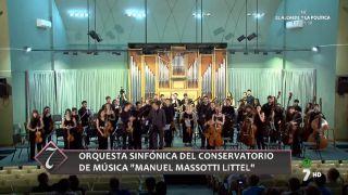 07/08/2016 Orquesta sinfónica del conservatorio de música