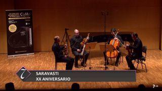 09/09/2018 Cuarteto Saravasti