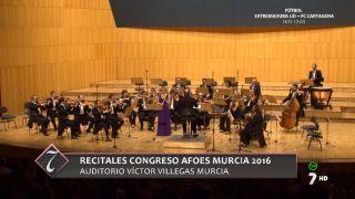 20/11/2016 Recitales Congreso AFOES Murcia 2016