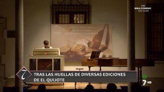 25/09/2016 Tras las huellas de diversas ediciones del Quijote