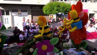 18/05/2019 Cabalgata de carrozas Fiestas San Isidro de Yecla I