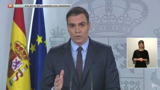 21/03/2020 Comparecencia Pedro Sánchez