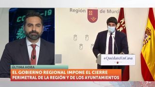 28/10/2020 Rueda de prensa Fernando López Miras