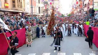 Desfile Moros y Cristianos Caravaca de la Cruz I