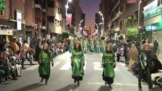 Desfile Parada de la Historia Medieval de Lorca