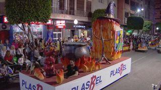 Gran desfile de carrozas. Fiestas de Alcantarilla 2018