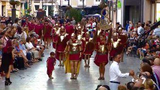 Gran desfile de Tropas y Legiones