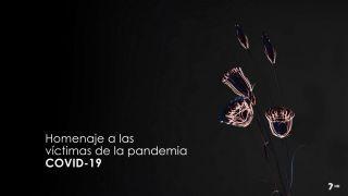 Homenaje a las víctimas de la pandemia COVID-19