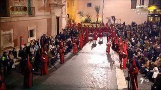 Procesión del Cristo de la Caridad en Murcia