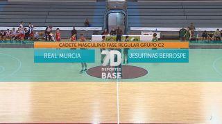 01/04/2021 Real Murcia - Jesuitinas Berrospe