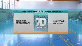 01/09/2018 Seguros GP Santomera CAVS - Cricket AD Eliocroca