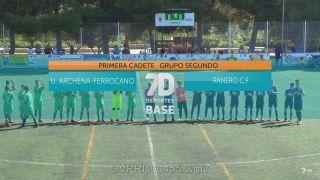 01/11/2018 U. Archena Ferrocano - Ranero CF