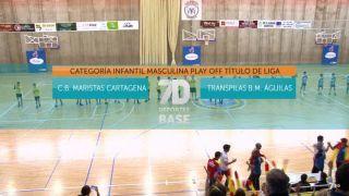 02/11/2019 CB Maristas Cartagena - Transpilas BM Águilas