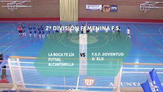 04/08/2018 La Boca Te Lía Futsal Alcantarilla - F.S.F. Joventud D´Elx