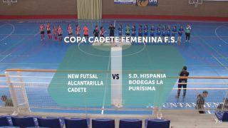 05/05/2018 New Futsal Alcantarilla - SD Hispania Bodegas La Purísima