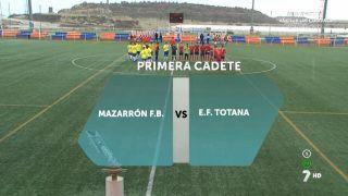 06/01/2017 Mazarrón F.B. - E.F. Totana
