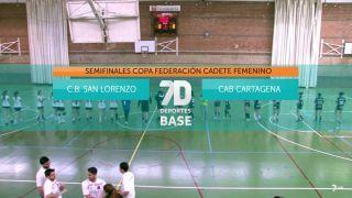 08/06/2019 C.B. San Lorenzo - CAB Cartagena