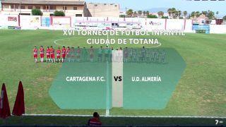 09/09/2017 Cartagena FC vs Almería