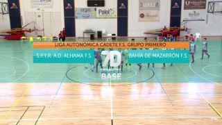10/08/2019 S.P.Y.R A.D. Alhama F.S. - Bahía de Mazarrón F.S.