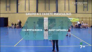 11/03/2017 Myrtia Murcia vs Basket Cartagena A