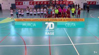 11/05/2019 Murcia - Ceuta Masculino F.S.