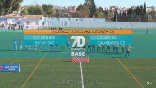 15/12/2018 CF Molina Promesas - Ciudad de Calasparra CF