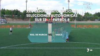 21/05/2016 Región de Murcia - Vasca