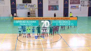 21/12/2019 SPYR AD Alhama Primafrío - El Dulce El Mirador FS