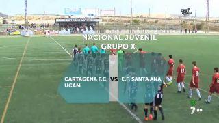 22/10/2016 Cartagena F.C. UCAM - E.F Santa Ana UCAM