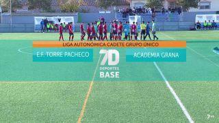 25/01/2020 E.F. Torre Pacheco - Academia Grana