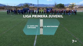 26/03/2016 Fútbol: E.F. Santa Ana Cartagena - C.D. Mediterráneo