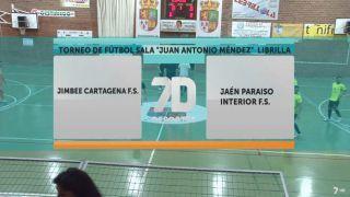26/08/2018 Jimbee Cartagena F.S. - Jaén Paraíso Interior F.S.