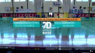 27/04/2019 Campeonato de España de fútbol sala femenino Sub-20