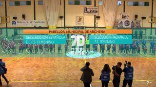 27/10/2018 Selección Española - Selección Italiana
