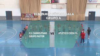 28/10/2017 F.S Carmelitano Grupo Pastor - Atlético Cieza F.S