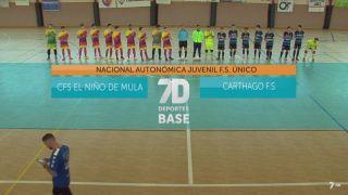 29/12/2018 Fútbol sala: Mula - Carthago