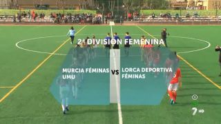 31/12/216 Murcia Féminas UMU vs Lorca Deportiva Féminas