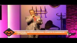 01/09/2016 Festival Internacional Cante Flamenco Lo Ferro
