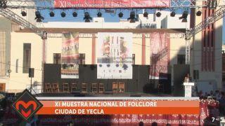 02/06/2019 XI Muestra nacional de folclore