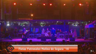 06/11/2018 Fiestas patronales Molina de Segura. Micky y Roser