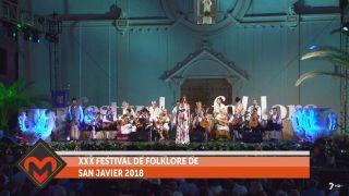 08/07/2018 XXX Festival de folklore de San Javier 2018