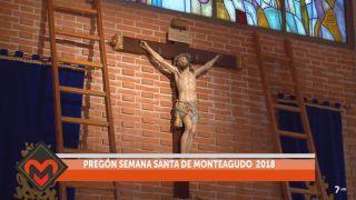 11/03/2018 Pregón de Semana Santa de Monteagudo