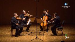 12/01/2016 Concierto Cuarteto Saravasti