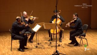 12/12/2015 Recital Cuarteto Saravasti