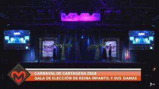 13/02/2018 Gala de elección de Reina Infantil y damas Carnaval Cartagena 2018
