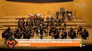 14/12/2015 Concierto bandas de Archena y Blanca en el Auditorio Victor Villegas