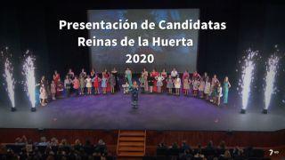 15/02/2020 Presentación candidatas Reina de la Huerta 2020