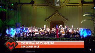18/07/2018 XXX Festival de Folklore de San Javier 2018
